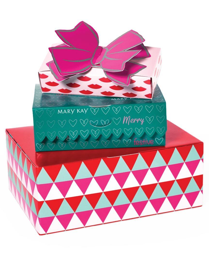 Limited-Edition Holiday Gift Box Set pk./3   Mary Kay